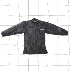 Yamaha Long Outdoor Rain Jacket w Cinched Waist
